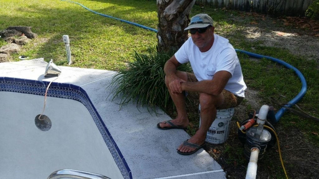 Greg Schmidt. Pool Repair for Brevard County, Florida